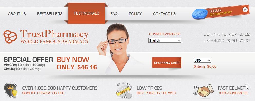 Trust Pharmacy Website
