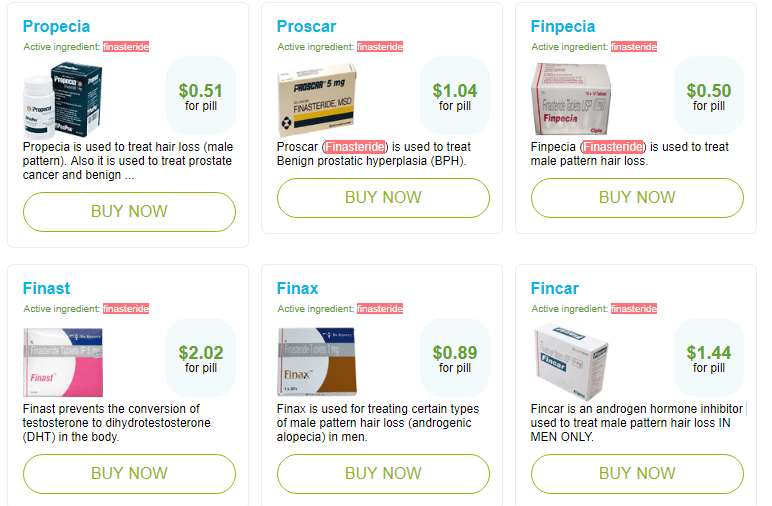 Generic Finasteride Prices