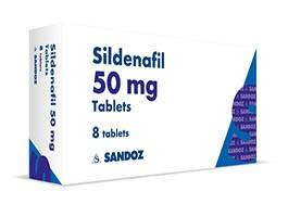 Sildenafil Citrate 50 mg Package