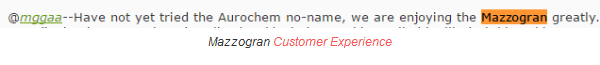 Mazzogran customer feedback