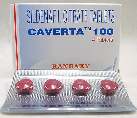 Caverta Sildenafil Citrate Tablet from Ranbaxy