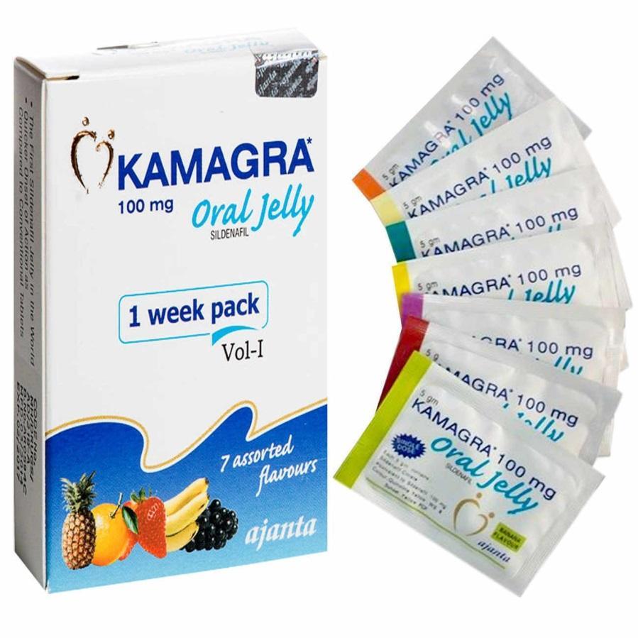 Kamagra Oral Jelly from Ajanta Pharma