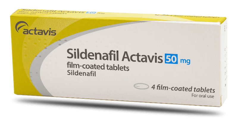 Sildenafil Actavis 50 mg