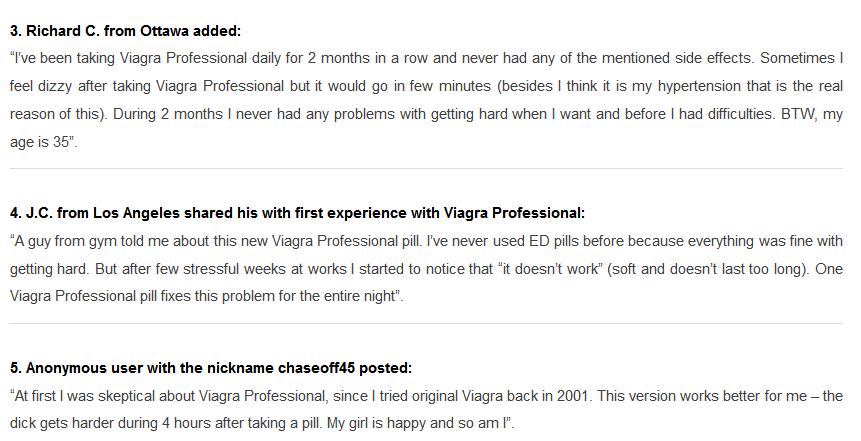 Viagra Professional 100mg Reviews