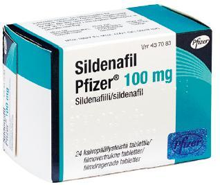 Pfizer also sells Viagra's generic drug, Sildenafil