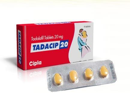 Tadacip 20mg – Generic Tadalafil Drug